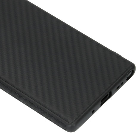Carbon Softcase Backcover Samsung Galaxy Note 20 (D)