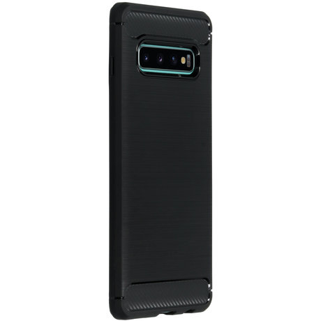 Brushed Backcover Samsung Galaxy S10 Plus (D)