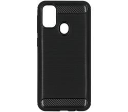 TPL Brushed Backcover Samsung Galaxy M30s / M21 - Zwart (D)