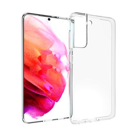 Accezz Clear Backcover Samsung Galaxy S21 FE - Transparant (D)