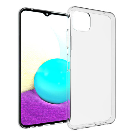 Accezz Clear Backcover Samsung Galaxy A22 (5G) - Transparant (D)
