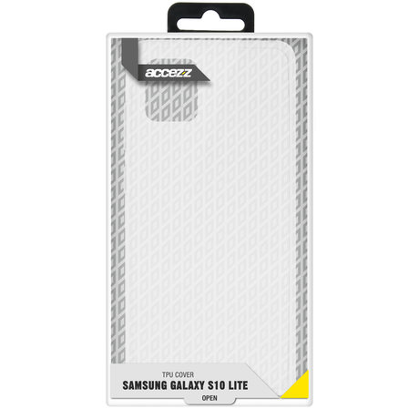 Accezz Clear Backcover Samsung Galaxy S10 Lite - Transparant (D)