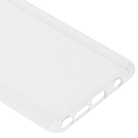 Accezz Clear Backcover Samsung Galaxy Note 10 Lite - Transparant (D)
