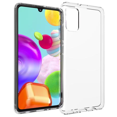 Accezz Clear Backcover Samsung Galaxy A41 - Transparant (D)