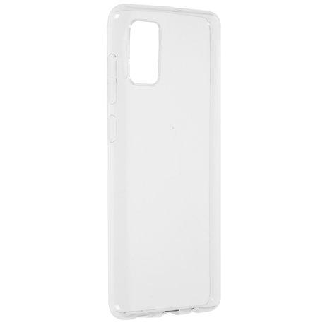 Accezz Clear Backcover Samsung Galaxy A71 - Transparant (D)