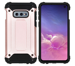 iMoshion iMoshion Rugged Xtreme Backcover Samsung Galaxy S10e - Rosé Goud (D)
