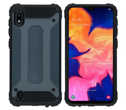 iMoshion iMoshion Rugged Xtreme Backcover Samsung Galaxy A10 - Donkerblauw (D)