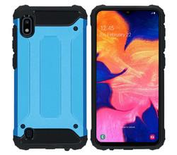 iMoshion iMoshion Rugged Xtreme Backcover Samsung Galaxy A10 - Lichtblauw (D)