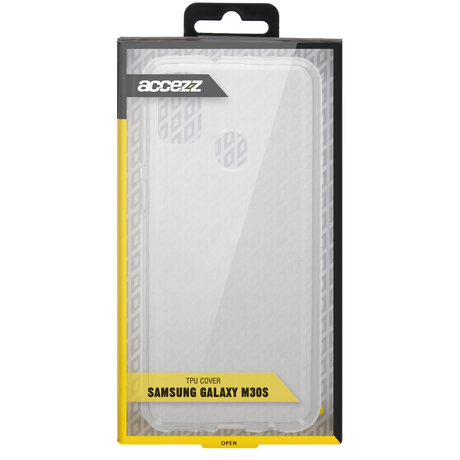 Accezz Clear Backcover Samsung Galaxy M30s / M21 - Transparant (D)