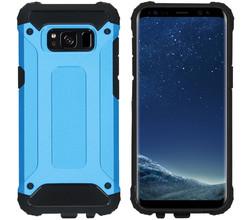 iMoshion iMoshion Rugged Xtreme Backcover Samsung Galaxy S8 - Lichtblauw (D)