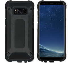 iMoshion iMoshion Rugged Xtreme Backcover Samsung Galaxy S8 - Zwart (D)
