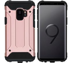 iMoshion iMoshion Rugged Xtreme Backcover Samsung Galaxy S9 - Rosé Goud (D)