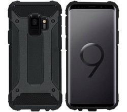 iMoshion iMoshion Rugged Xtreme Backcover Samsung Galaxy S9 - Zwart (D)