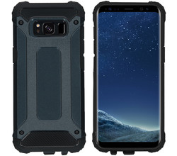 iMoshion iMoshion Rugged Xtreme Backcover Samsung Galaxy S8 - Donkerblauw (D)