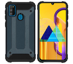 iMoshion iMoshion Rugged Xtreme Backcover Galaxy M30s / M21 - Donkerblauw (D)