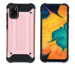 iMoshion iMoshion Rugged Xtreme Backcover Samsung Galaxy A31 - Rosé Goud (D)