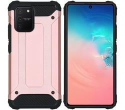 iMoshion iMoshion Rugged Xtreme Backcover Samsung Galaxy S10 Lite - Rosé Goud (D)