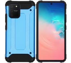 iMoshion iMoshion Rugged Xtreme Backcover Samsung Galaxy S10 Lite - Lichtblauw (D)