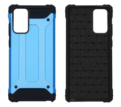 iMoshion iMoshion Rugged Xtreme Backcover Samsung Galaxy Note 20 - Lichtblauw (D)