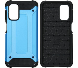 iMoshion iMoshion Rugged Xtreme Backcover Samsung Galaxy A32 (5G) - Lichtblauw (D)