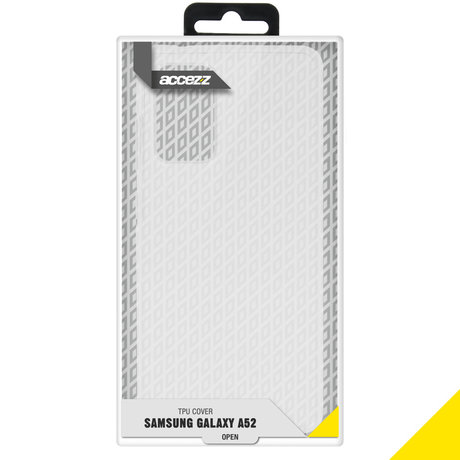 Accezz Clear Backcover Galaxy A52(s) (5G/4G) - Transparant (D)