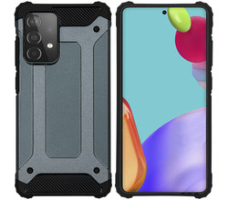 iMoshion iMoshion Rugged Xtreme Backcover Galaxy A52(s) (5G/4G)-Donkerblauw (D)