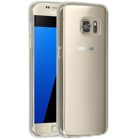 Accezz Clear Backcover Samsung Galaxy S7 - Transparant (D)