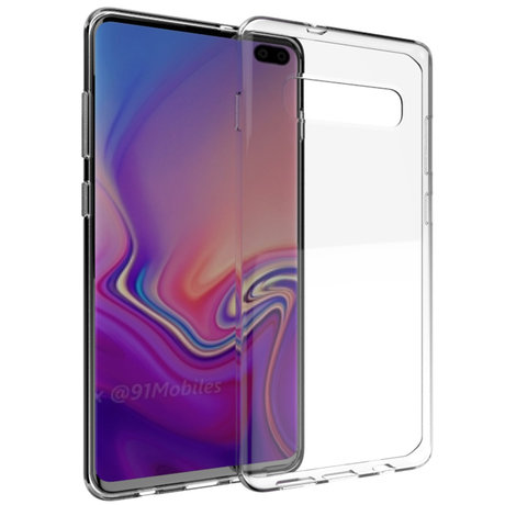 Accezz Clear Backcover Samsung Galaxy S10 Plus (D)
