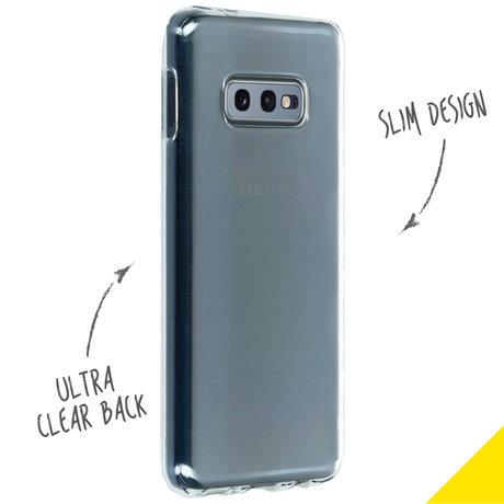 Accezz Clear Backcover Samsung Galaxy S10e (D)