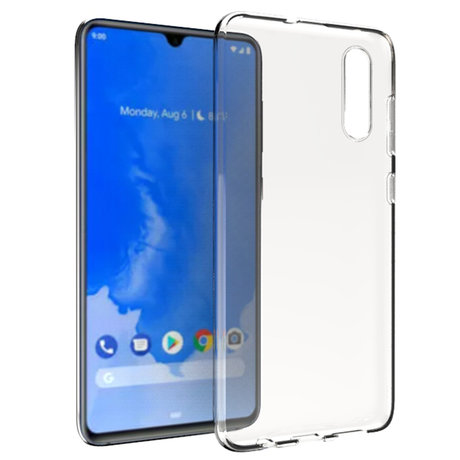 Accezz Clear Backcover Samsung Galaxy A70 - Transparant (D)