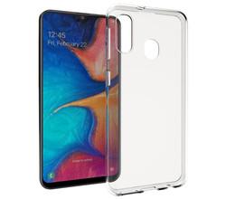 Accezz Accezz Clear Backcover Samsung Galaxy A20e - Transparant (D)