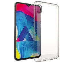 Accezz Accezz Clear Backcover Samsung Galaxy A10 - Transparant (D)