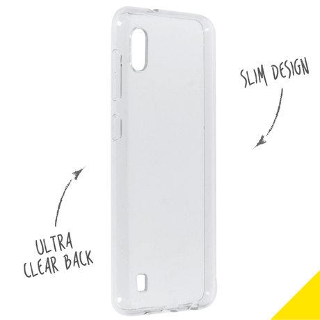 Accezz Clear Backcover Samsung Galaxy A10 - Transparant (D)