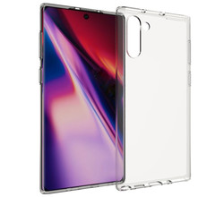 Accezz Accezz Clear Backcover Samsung Galaxy Note 10 - Transparant (D)