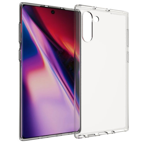Accezz Clear Backcover Samsung Galaxy Note 10 - Transparant (D)