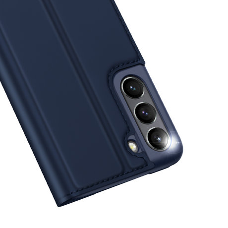 Dux Ducis Slim Softcase Booktype Samsung Galaxy S21 FE - Donkerblauw (D)
