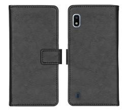 iMoshion iMoshion Luxe Booktype Samsung Galaxy A10 - Zwart (D)