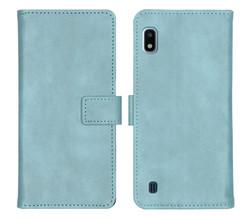 iMoshion iMoshion Luxe Booktype Samsung Galaxy A10 - Lichtblauw (D)