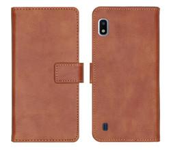 iMoshion iMoshion Luxe Booktype Samsung Galaxy A10 - Bruin (D)