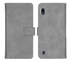 iMoshion iMoshion Luxe Booktype Samsung Galaxy A10 - Grijs (D)