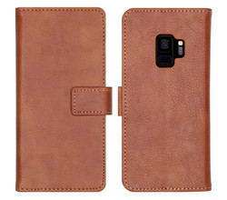 iMoshion iMoshion Luxe Booktype Samsung Galaxy S9 - Bruin (D)