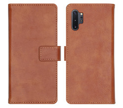 iMoshion iMoshion Luxe Booktype Samsung Galaxy Note 10 Plus - Bruin (D)