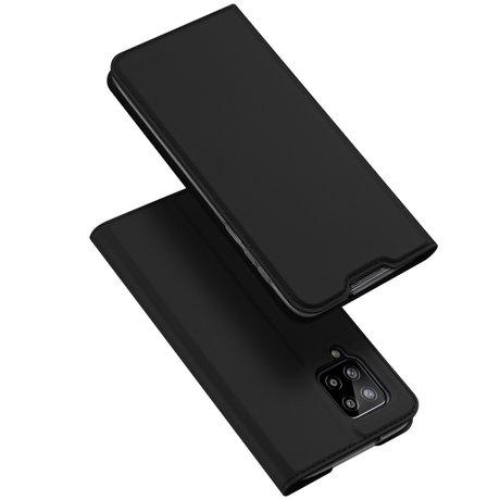 Dux Ducis Slim Softcase Booktype Samsung Galaxy A42 - Zwart (D)