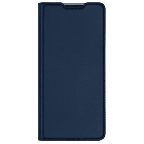 Dux Ducis Slim Softcase Booktype Samsung Galaxy A42 - Donkerblauw (D)