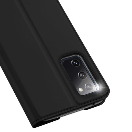 Dux Ducis Slim Softcase Booktype Samsung Galaxy S20 FE - Zwart (D)