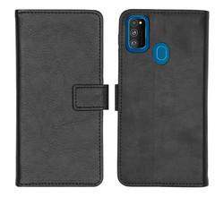 iMoshion iMoshion Luxe Booktype Samsung Galaxy M30s / M21 - Zwart (D)