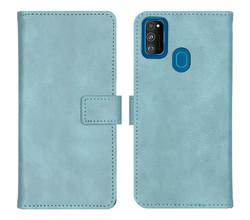 iMoshion iMoshion Luxe Booktype Samsung Galaxy M30s / M21 - Lichtblauw (D)