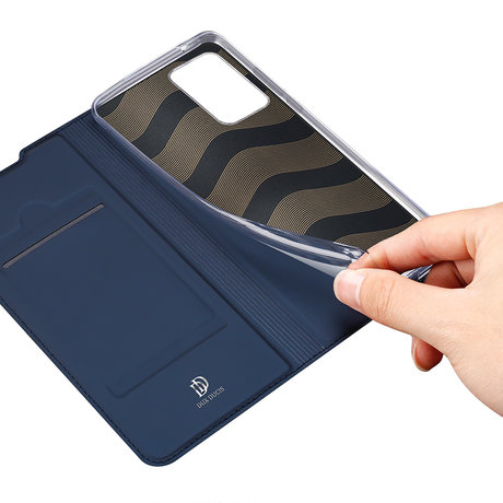 Dux Ducis Slim Softcase Booktype Galaxy Note 20 Ultra - Donkerblauw (D)