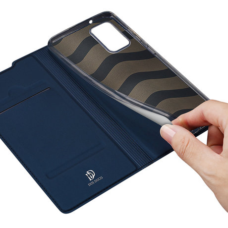 Dux Ducis Slim Softcase Booktype Samsung Galaxy Note 20 - Donkerblauw (D)