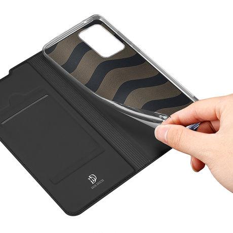 Dux Ducis Slim Softcase Booktype Samsung Galaxy Note 20 Ultra - Zwart (D)